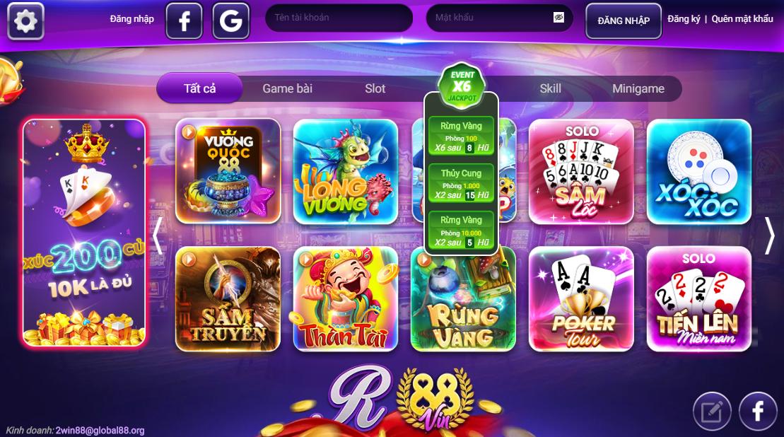 Hình ảnh 1r88 in 1R88 Vin apk/ios/pc- 1r88 cổng game quốc tế bản mới